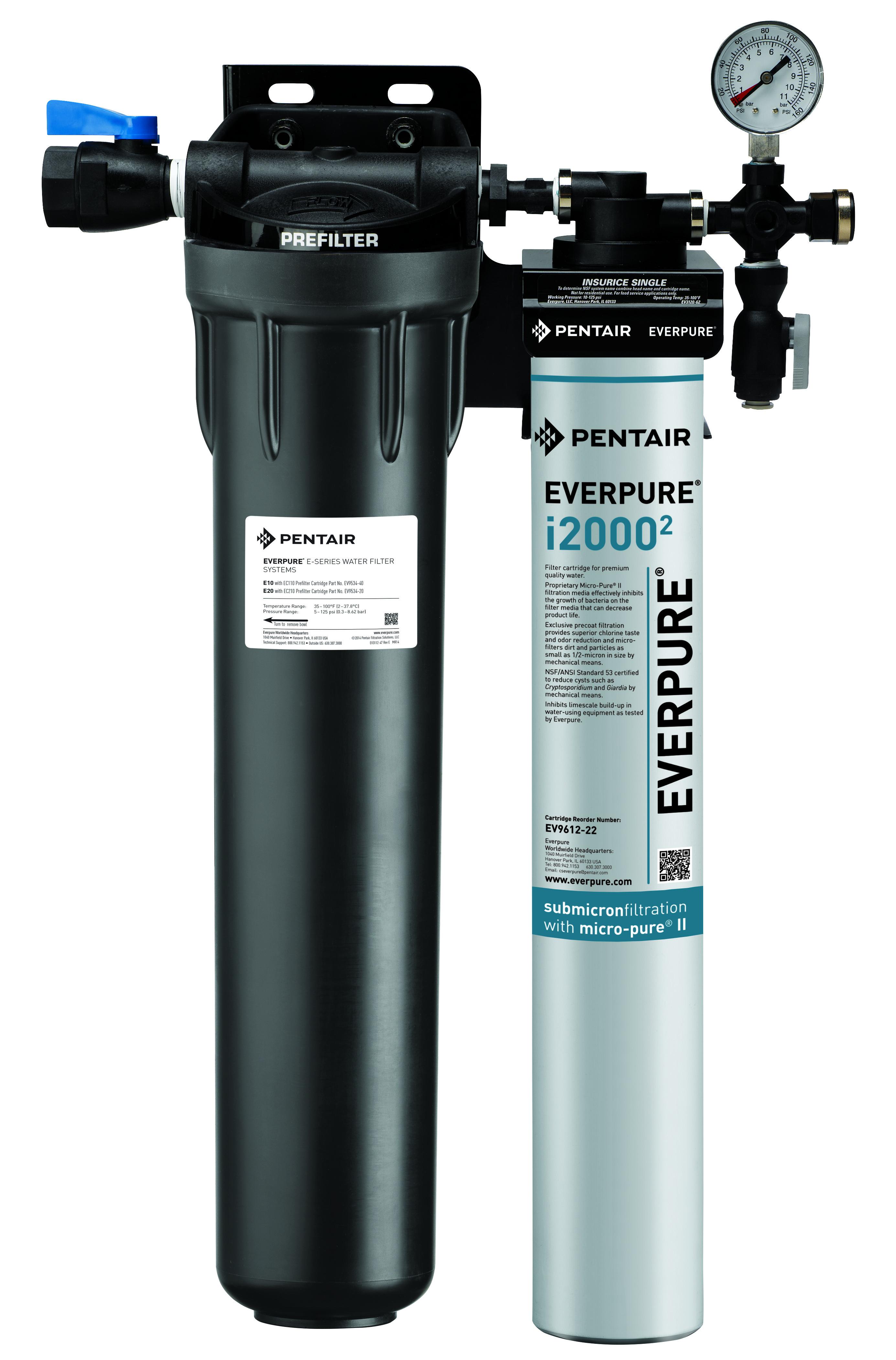 Everpure Insurice i2000-2 EV9324-21 Filtration System